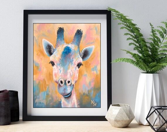 Tanganyika Giraffe Print