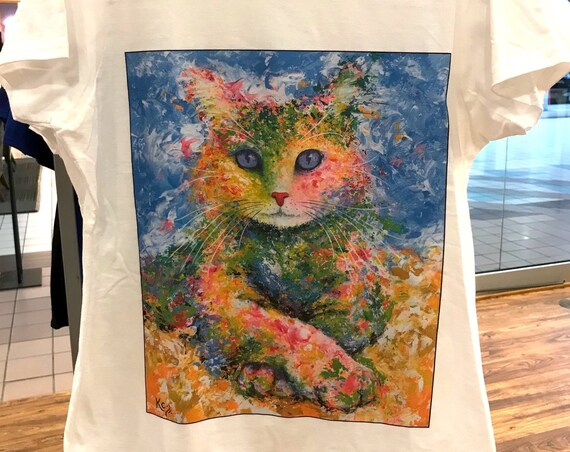 "Women's Cat T-Shirt ""Karma"""
