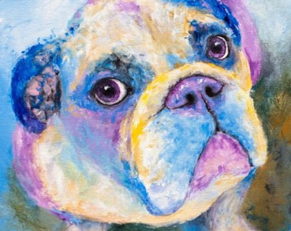 English Bulldog Print - Jude