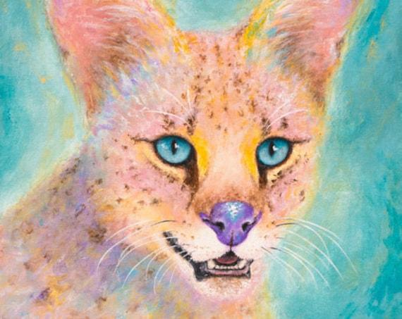 Serval Mia Print