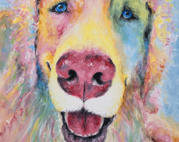 Golden Retriever Print - Billy