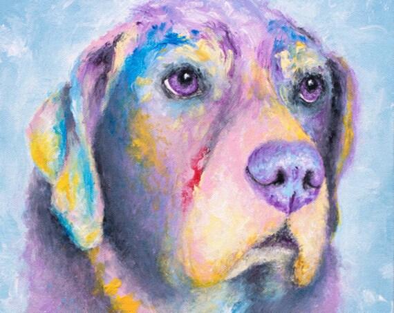 Labrador Retriever Print - Myrtle