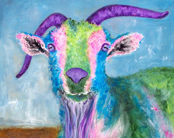 Billy Goat Painting