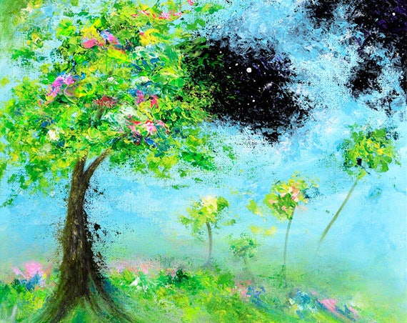 Cosmic Troposphere Painting