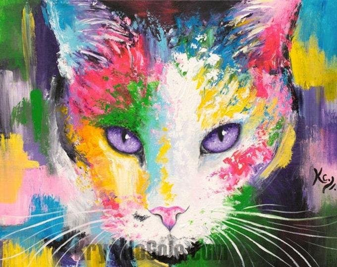 Cat Print - Panda Through the Void