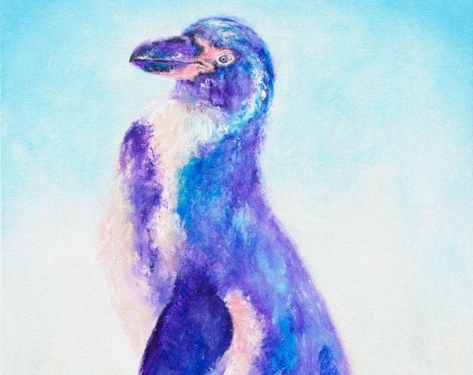 Humboldt Penguin Print