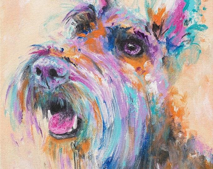 Scottish Terrier Print - Hammie