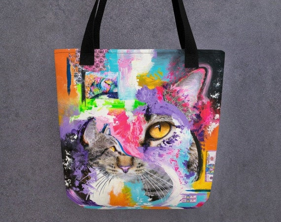 King Samadhi Cat Tote Bag