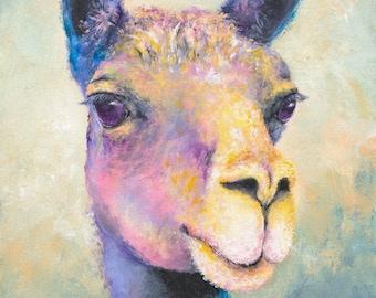 Llama Gertie Print