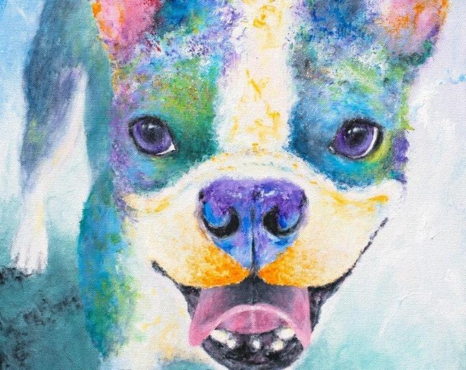 Boston Terrier Print