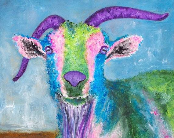 Billy Goat Print