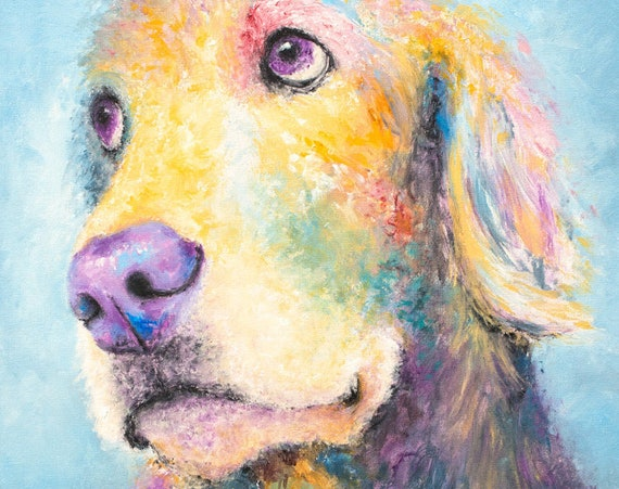 Golden Retriever Print - Mr. Jones