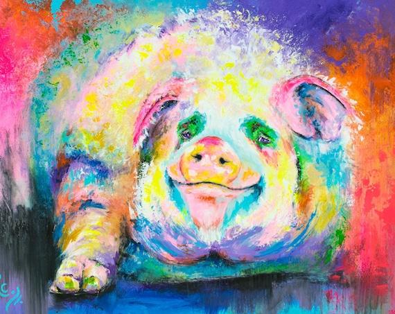 Pig Painting - Hog Wild