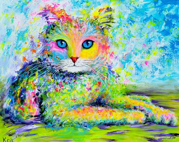 Sunshine Kitty Print