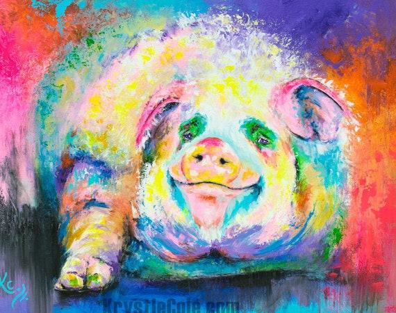 Pig Print - Hog Wild