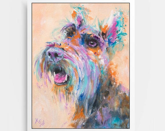 Scottish Terrier Print - Hammie