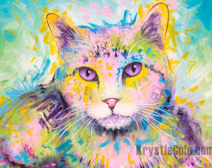 Twinkle Toes Polydactyl Cat Print