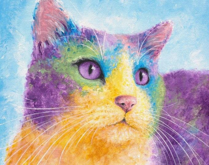 Cat Print - Cosmo