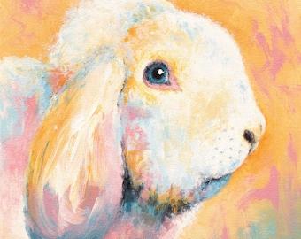Lop-Eared Rabbit Print - Frank