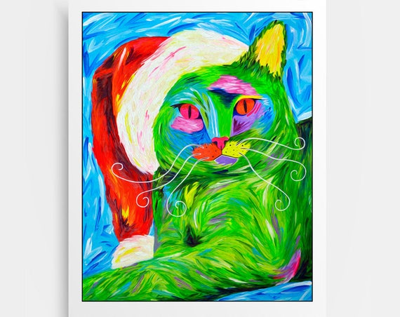 Karma the Grinch Print