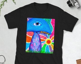 All Seeing I Shroom Unisex T-Shirt