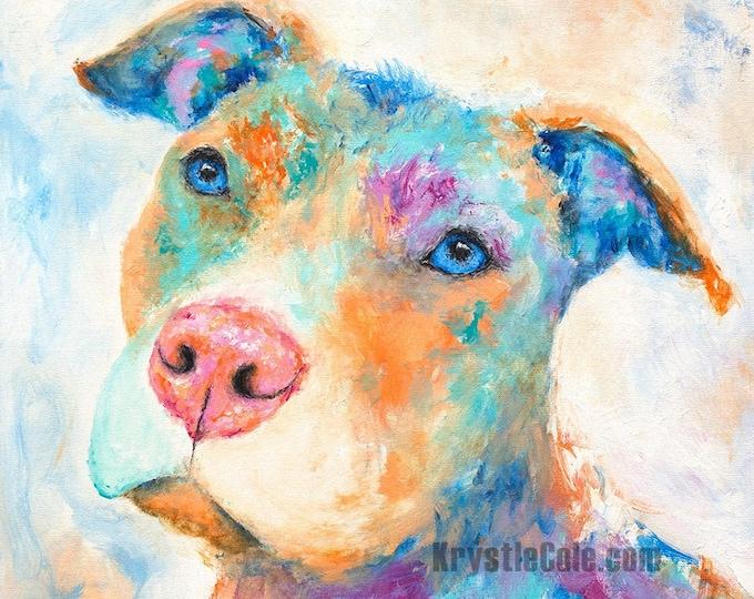 Pit Bull Print