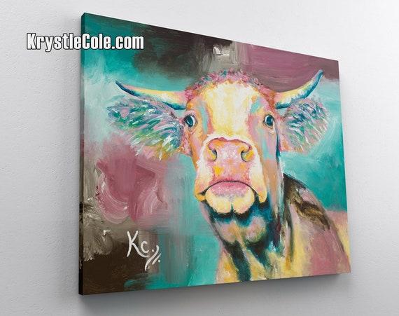 Moo Cow Canvas Print