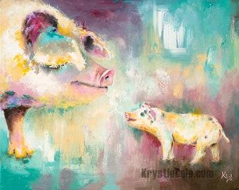 Pig Print - Kindred Old Spots