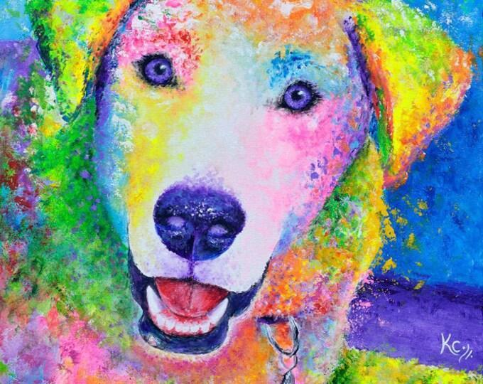 Labrador Retriever Print - Chester