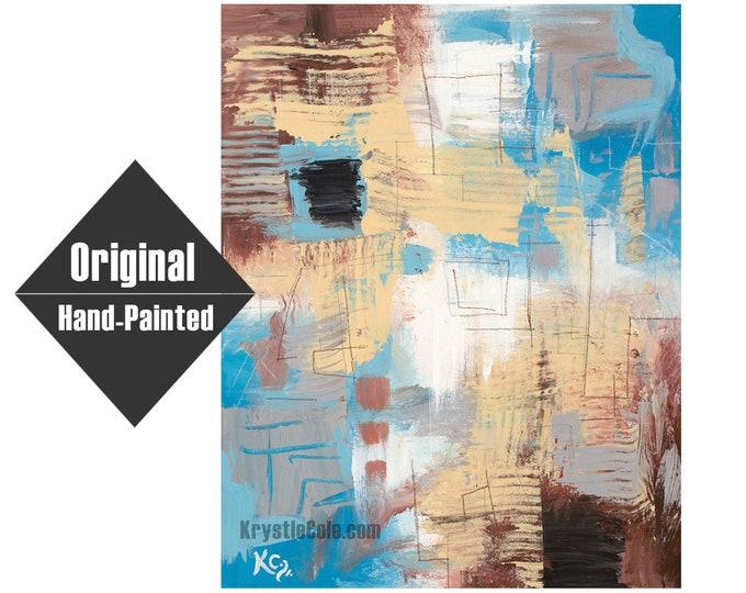 "Unfolding Painting - 16x20"""