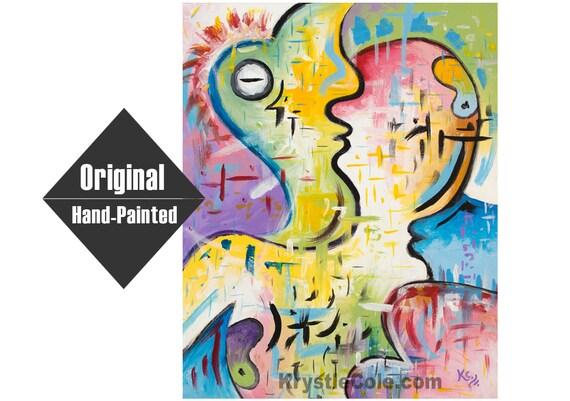 Internal Dialogue 2.0 Painting