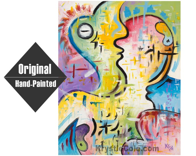 """Internal Dialogue 2.0 Painting - 16x20"""""""