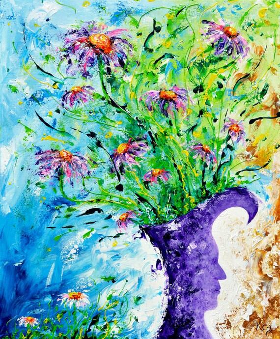Efflorescence Print