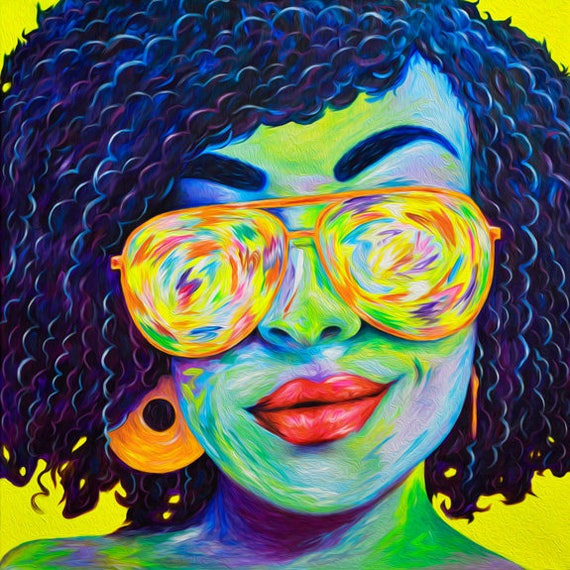 Psychedelic Sister Print