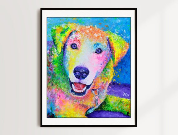 Labrador Retriever Print - Chester