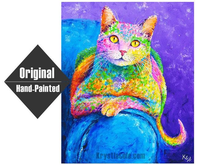 "Miss Karma Painting - 20x24"""