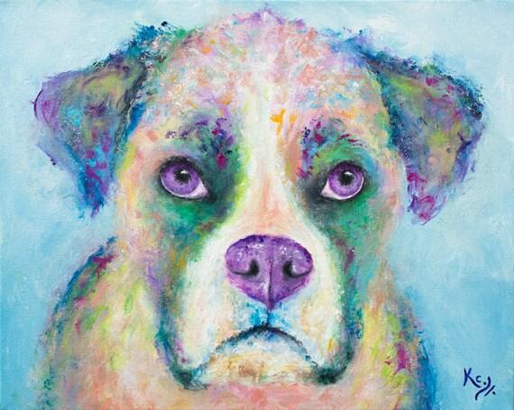 Boxer Print - Puppy Dog Eyes