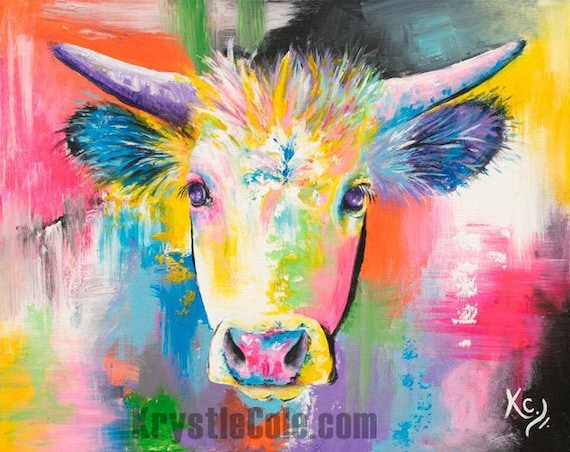 Ghost Cow Painting
