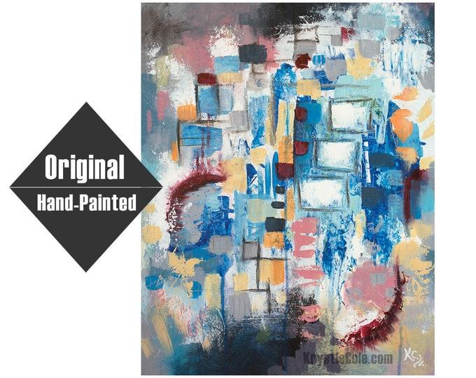 "Breaking Through Painting - 16x20"""