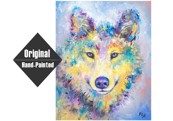 Wolf Painting