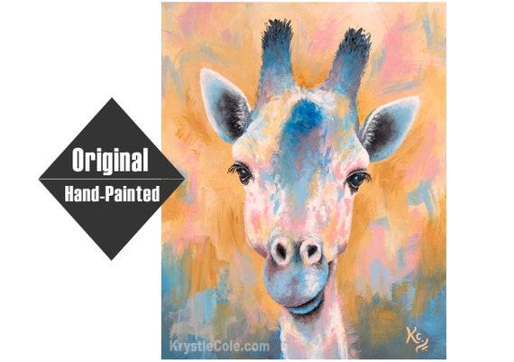 Tanganyika Giraffe Painting