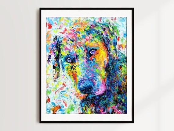 Labrador Retriever Print - Rosebud