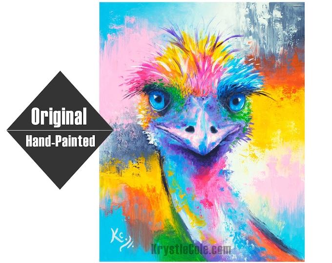 "Emu Painting - 24x30"""