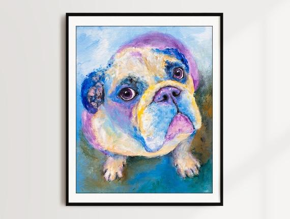 English Bulldog Print - Jude