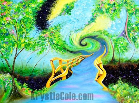 Cosmic Ascension Print