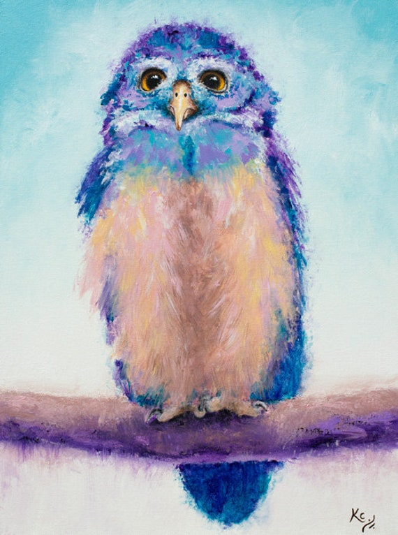 Spectacled Owl Print