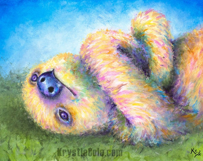 Chewbacca the Sloth Print