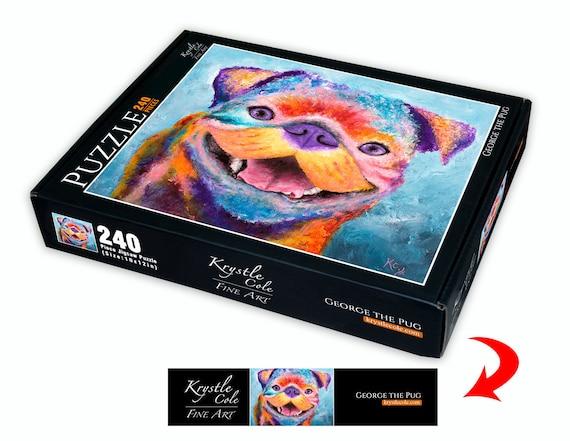 Pug Puzzle - 240 Piece Puzzle