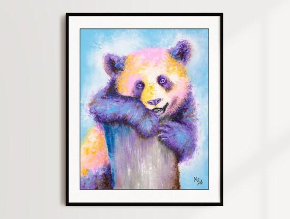 Panda Bear Print