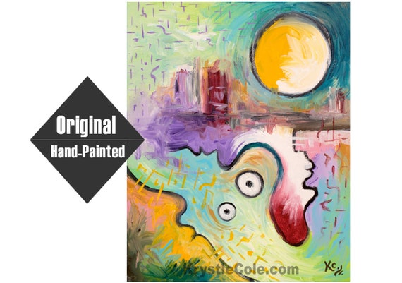 Across the Integral Divide Painting